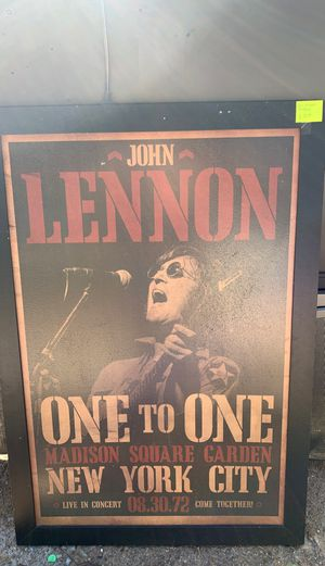"""John Lennon picture 28"""" x 40"""" for Sale in Mansfield, TX"""