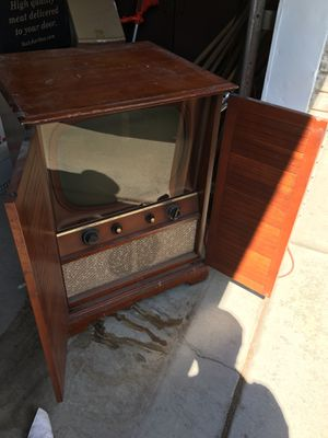 TV with cabinet for Sale in Sandy, UT