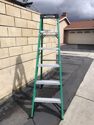 WERNER AND DAVIDSON 6 FT LADDERS $55 EACH for Sale in Garden Grove, CA