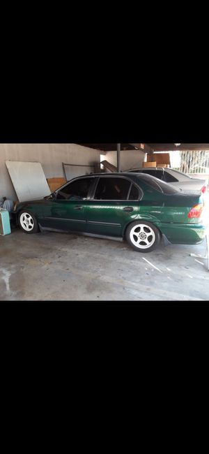 1999 honda civic ek sedan. Tags and smog paid and done, tags good till march 2021 any questions please ask away for Sale in Monterey Park, CA