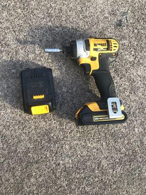 Dewalt 20v max impact drill for Sale in Kailua-Kona, HI