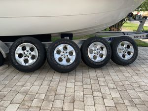 "18"" Jeep JK Sahara Wheels & Tires original for Sale in Fort Lauderdale, FL"
