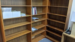 Wooden bookshelves for Sale in Foster City, CA
