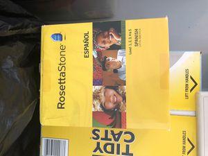 Rosetta Stone Spanish for Sale in Lutz, FL