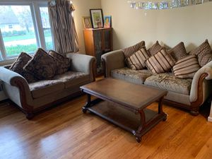 Sofa set and coffe table for Sale in Westborough, MA