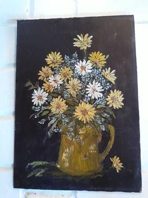 Vintage origanal floral painting for Sale in Seattle, WA