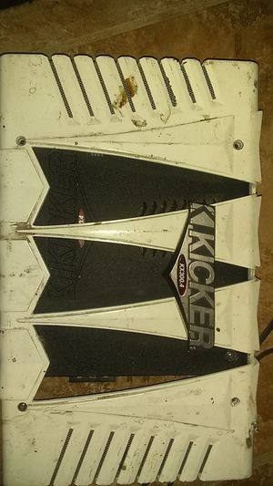 Two 12 Sony xplod and kicker amp for Sale in Bloomington, CA