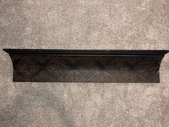 Brown wall shelf for Sale in Rockwall,  TX