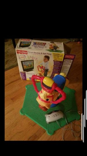 Fisherprice Pony Bounce and Spin Toy for Sale in Waterbury, CT