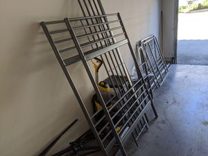 Double Twin Bunk Beds.. Solid Frame with Mattresses.. for Sale in Austin, TX