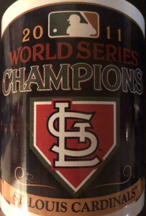 St. Louis Cardinals MLB Baseball 2011 World Series Champions Coffee Cup Glass - BRAND NEW! for Sale in Citrus Heights, CA