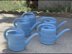 Watering can plastic $3 each for Sale in Pasadena, CA