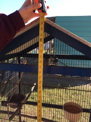 Large bird cage with two Breeder boxes for Sale in Frostproof, FL