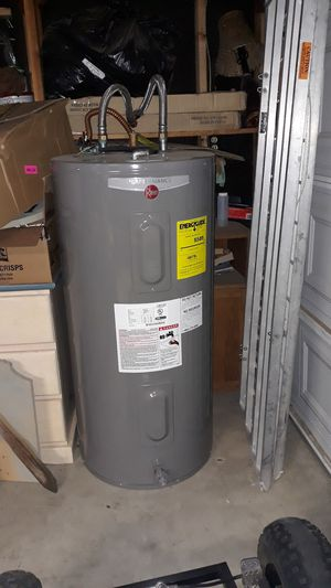 Rheem Performance 50 gallon electric water heater brand new for Sale in Modesto, CA