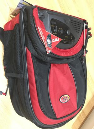 Cooler backpack with radio for Sale in Malden, MA