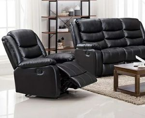 🎀 SAME DAY DELIVERY 🎀   BRAND NEW 😍 Miami 3pc Reclining Living Room Set. FINANCE AVAILABLE for Sale in Houston, TX