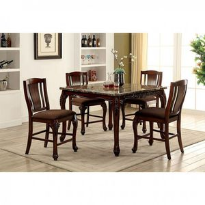 Traditional,brown cherry 5pc dining table set for sale$899🔥🔥🔥🔥 for Sale in Fresno, CA