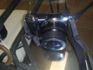 Sony Alpha A5000 Black Mirrorless Digital Camera for Sale in Richmond Hill, GA
