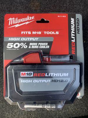 New milwaukee m18 hd 12.0 $160 obo for Sale in Orange, CA