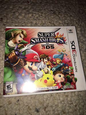Super Smash Bros Nintendo 3ds for Sale in Tempe, AZ