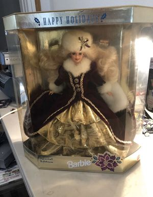 VINTAGE 1996 SPECIAL EDITION HAPPY HOLIDAYS BARBIE Collector's NRFB 15646 for Sale in Struthers, OH