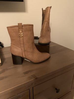 Tan ankle boots ntw for Sale in Weston, WV