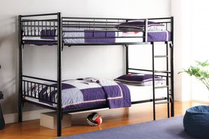 BLACK CONVERTIBLE BUNK BED for Sale in The Bronx, NY
