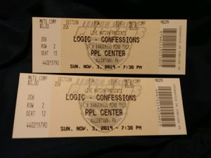 Logic tickets for Sale in Johnson City, NY