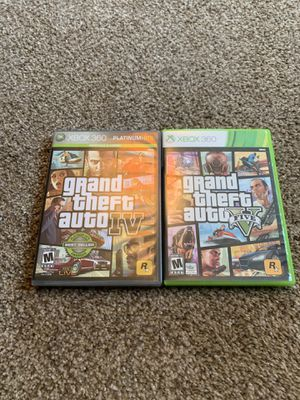 Xbox 360 grand theft auto games for Sale in Portland, OR