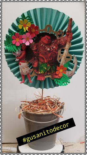 Moana party decorations centerpieces for Sale in Kissimmee, FL