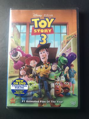 Toy Story 3 DVD brand new for Sale in Corona, CA