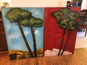 2 landscape paintings for Sale in Gaithersburg, MD