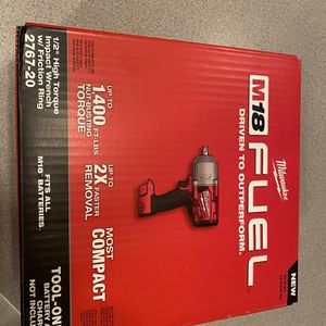 M18 Fuel 1/2 High Torque Impact Wrench Brand New (tool Only) for Sale in Lombard, IL