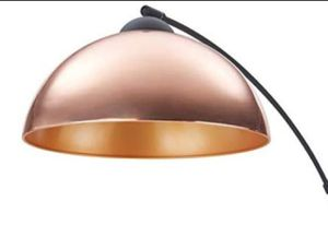 Archiology, Venice Arc Floor Lamp, Directional Pole Light with it Rose Gold Shade for Sale in Ontario, CA