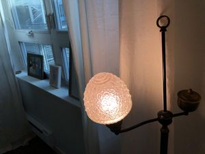 Antique Floor Lamp with crystal bulb for Sale in Seattle, WA