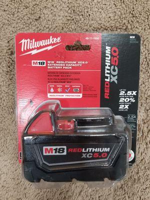 Milwaukee REDLITHIUM XC5.0 for Sale in Austell, GA