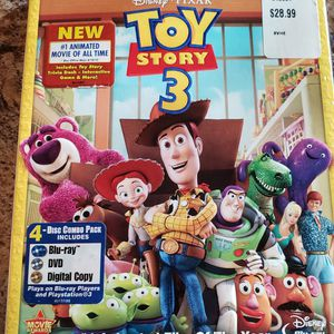 Toy Story 3 (Blu-ray And DVD And Digital Combo) for Sale in Glendale, AZ