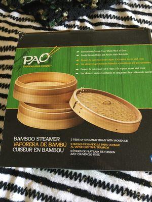Pao Bamboo Steamer for Sale in Roanoke, VA
