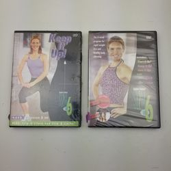 Lot of 2 DVDs Start It Up! Keep It Up! Debbie Siebers' Slim in 6 Weight Loss New for Sale in Hephzibah,  GA