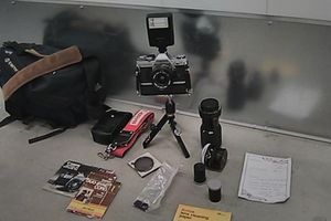 Canon Camera with 3 lens, bag, film, etc... for Sale in San Diego, CA