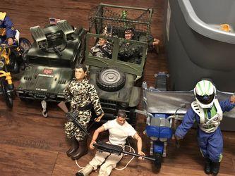 GI Joe and Max Steel Toya for Sale in Orangevale,  CA