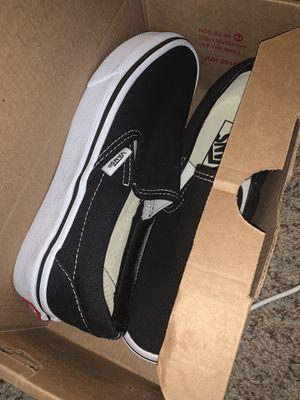 Brand New Black Slip on Vans - men's 3.5, women's 5 for Sale in Phoenix, AZ