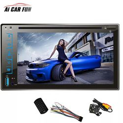 """FY6205C 2 Din Car DVD Player 6.2"""" Capacitive Touch screen Handsfree Bluetooth Car Stereo CD/MP3/FM/AM/USB/SD MP4 MP5 Player for Sale in Bethesda,  MD"""