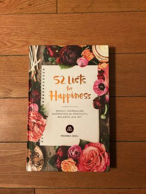 BRAND NEW - 52 Lists for Happiness Journal for Sale in Pasadena, CA
