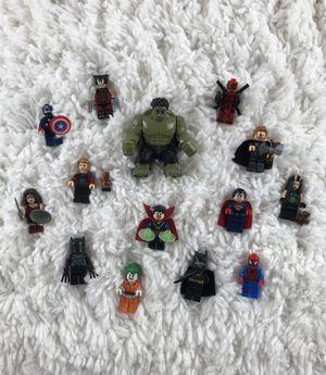 Superhero LEGO Inspired Set Figures for Sale in North Las Vegas, NV
