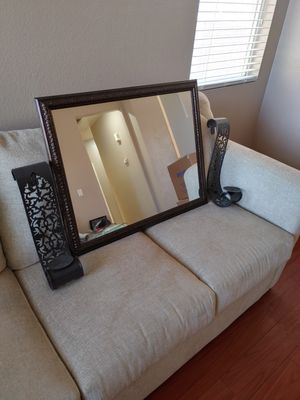 3 Piece Mirror Candle Set for Sale in Las Vegas, NV