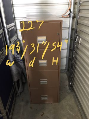 Fireproof file cabinet $300 for Sale in Mulberry, FL