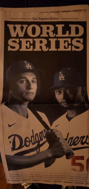 LA Times Dodgers World Series for Sale in Alhambra, CA