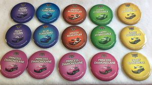 """Lot of 15 Disney Cars Land Park Pins 3"""" Buttons for Sale in San Jose, CA"""