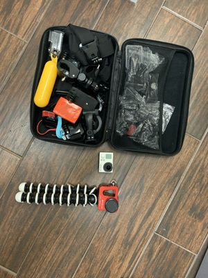 GoPro 3+ and accessories for Sale in Lutz, FL